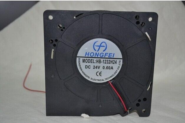 Direct HB-1232H24 24V 0.6A 12032 Hongfei DC fan blower fan vortexDirect HB-1232H24 24V 0.6A 12032 Hongfei DC fan blower fan vortex