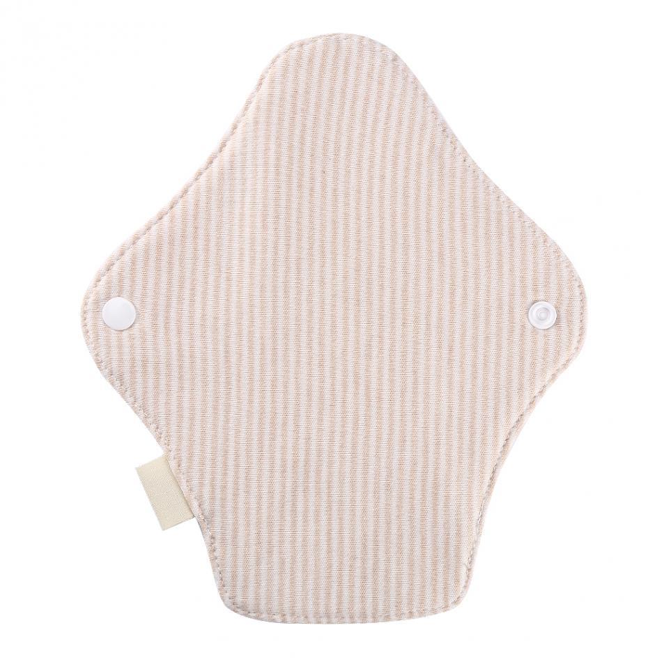 180 x 65mm Reusable Cotton Menstrual Pads Sanitary Napkins Washable Menstrual Sanitary Pad Women Cloth Menstrual