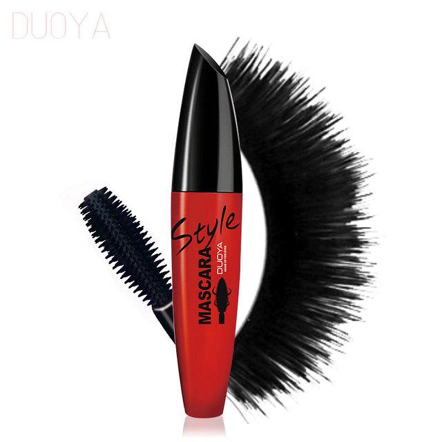 DUOYA Brand Makeup 3D Fiber Lashes Mascara