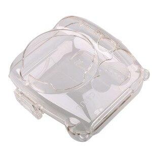 Image 3 - Przezroczysta twarda obudowa obudowa ochronna torba na aparat ochronny do aparatu fotograficznego Fujifilm Instax Mini 8/9 Mini 8/Mini8 +/9 Film natychmiastowy