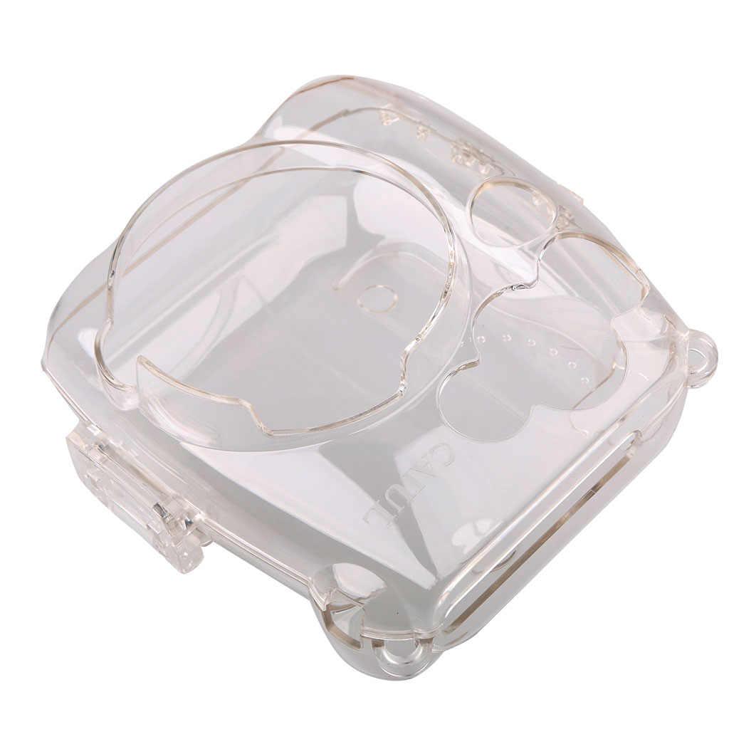 Trong Suốt Cứng Nắp Bảo Vệ Túi Đựng Bảo Vệ Cho Máy Ảnh Fujifilm Instax Mini 8/9 Mini 8/Mini8 +/ 9 Liền Máy Chụp Ảnh Phim