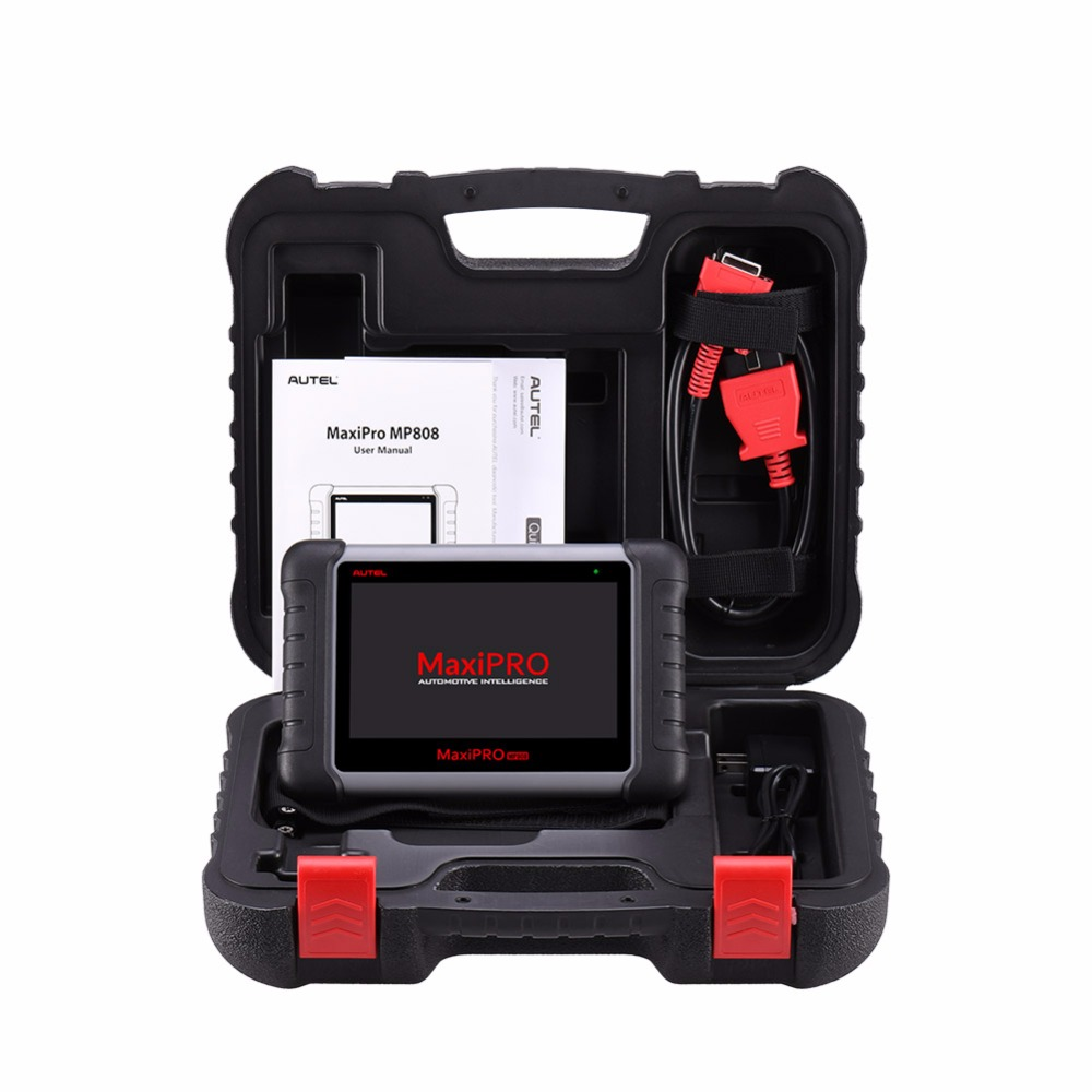 Image 5 - Autel MaxiPRO MP808 OBD2 Automotive Scanner OBDII Diagnostic Tool Code Reader Scan Tool Key Coding as Autel MaxiSys MS906 DS808-in Engine Analyzer from Automobiles & Motorcycles