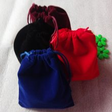 100pcs 10x12cm Jewelry Bags Pouch Velvet Bags Jewellery Pouches Gift Bag For Chr