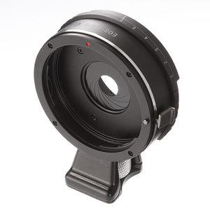 Image 2 - 캐논 eos ef 렌즈 용 내장 조리개 렌즈 어댑터 링 m4/3 마이크로 4/3 gh5 gf6 g7 E M5 E M5 ii E PL1 카메라