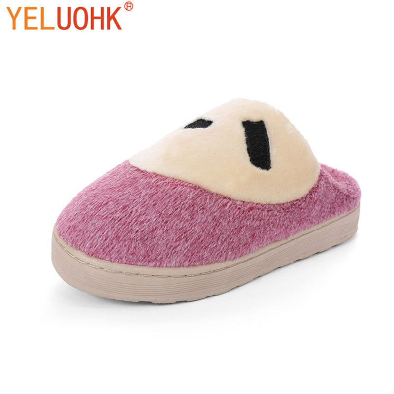 Yeluohk Plush Slippers Animals Home Shoes For Women Indoor Home Slippers Female Slippers Home