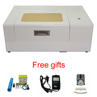 30w CO2 laser engraving machine with mobile tempered glass screen protector working area 200*150mm