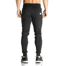 Men full sportswear Pants Casual Elastic cotton