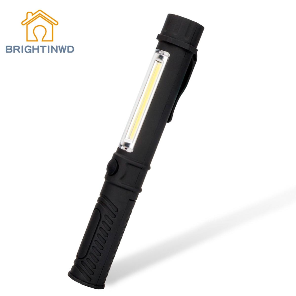 BRIGHTINW Emergency camping Lantern Waterproof Flashlight Torch Magnetic Work Light Mini Torch Hanging LampPortable Tent lamp