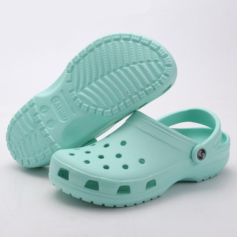 Garden Clogs Slippers Footwear Flip-Flops Slides Beach-Sandals Breathable Men's Unisex