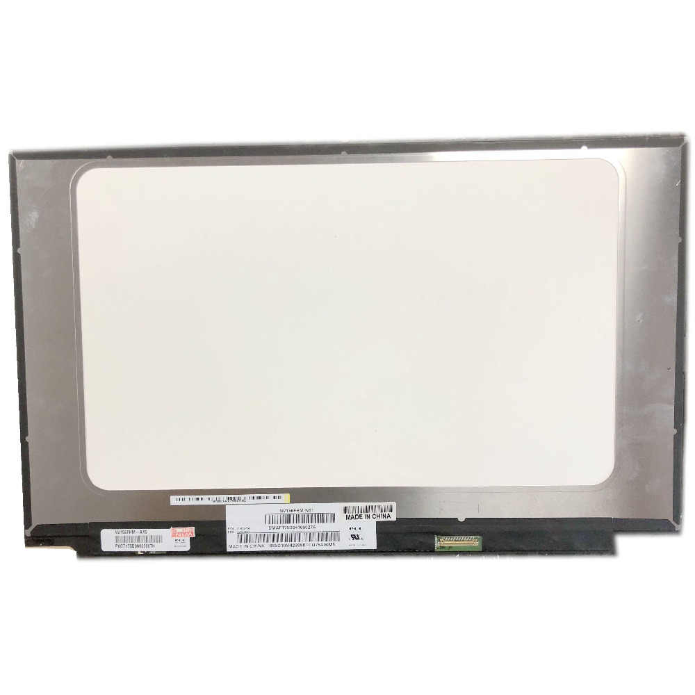 NV156FHM-N61 LED LCD, NV156FHM-A15, IPS, 30 Pines, EDP, 1920x1080, PANEL de pantalla LED 72% NTSC para Lenovo con FRU