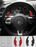 Aluminium Alloy Steering Wheel DSG Paddle Shifters For VW Volkswagen GOLF 6 CC GTI R20 Tiguan