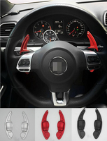 DEE Aluminium Alloy steering wheel DSG paddle shifters for VW volkswagen GOLF 6 CC GTI R20 Tiguan Paddle Gearbox Car Accessories