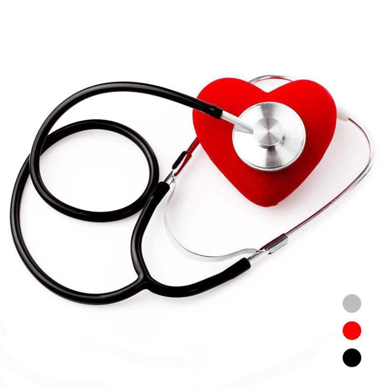 1 Pcs Stethoscope Aid Single Headed Auscultation Care Doctor Nurse Cardiology Aluminium  ...