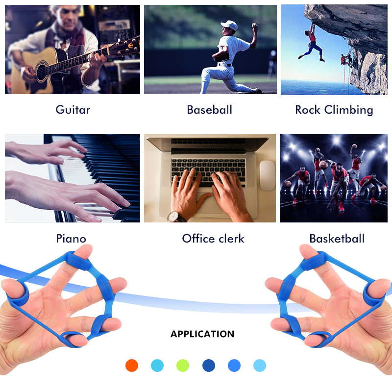 Finger Exerciser Hand Grip Strengthener   GoInsShop