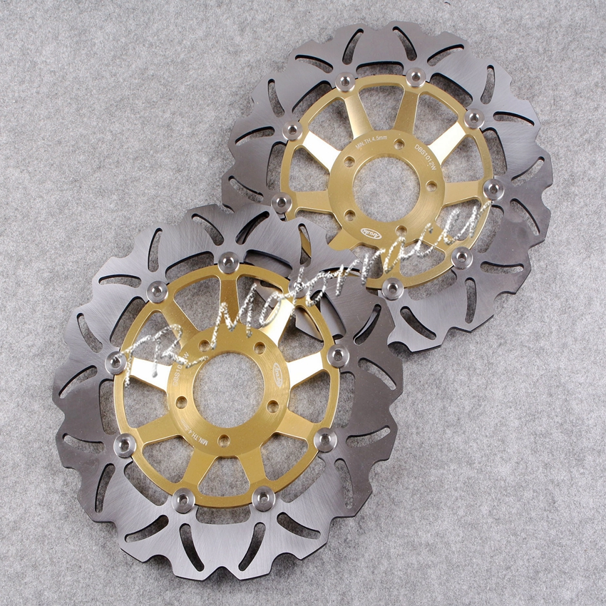 Para Suzuki oro disco de freno gsxr750 gsxr1100 gsxr Edición Limitada 750 motocicleta reemplazo Accesorios
