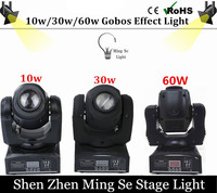 10w 30w 60wled Moving Head Light 8 11channels DMX512 Moving Head Spot Light 10w 30w
