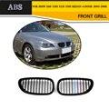 5 serie 3 Farbe Grille ABS Front Stoßstange Grill Für BMW E60 E61 2005 2008|Rennauto-Kühlergrill|Kraftfahrzeuge und Motorräder -