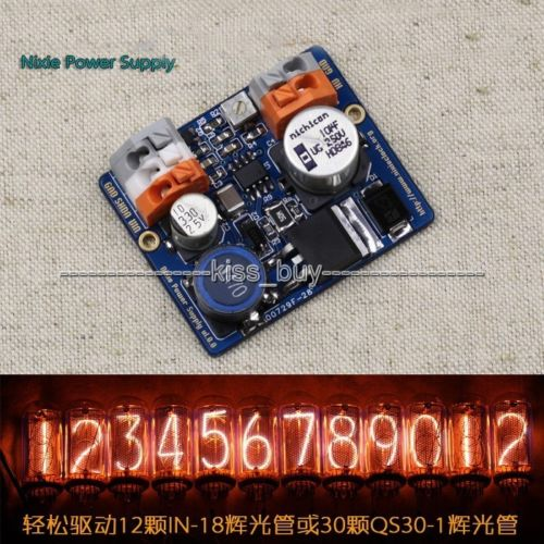 NCH6100HV High Voltage DC Power Supply Module For Nixie Tube Glow Tube Magic Eye DC 12V-24V TO 170V 85-235V