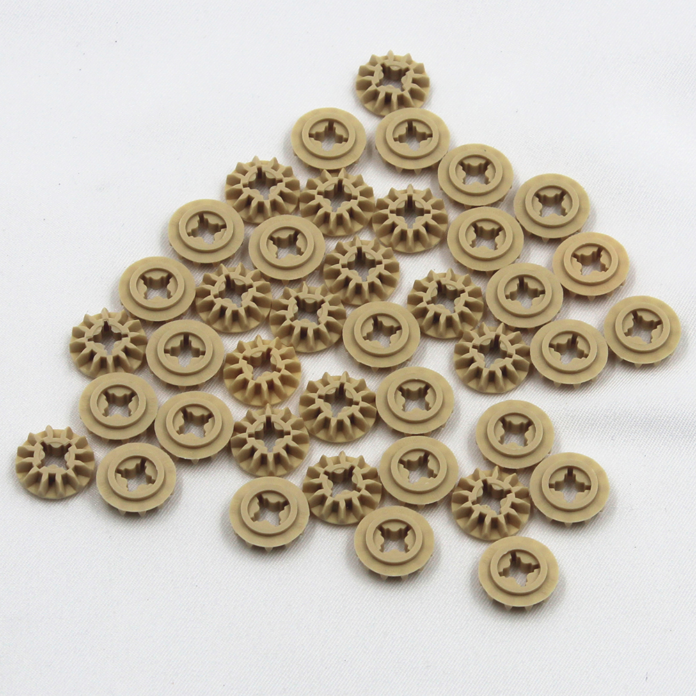 Self-Locking Bricks Free Creation Of Toy TechnicCONICAL WHEEL Z12 40Pcs Compatible With Lego NOC4565452
