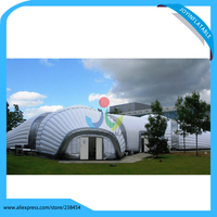 Large White Inflatable Party Tent, Inflatable Event Tent Custom Outdoor Camping Tent Waterproof Marquee PVC Tent Manufacture