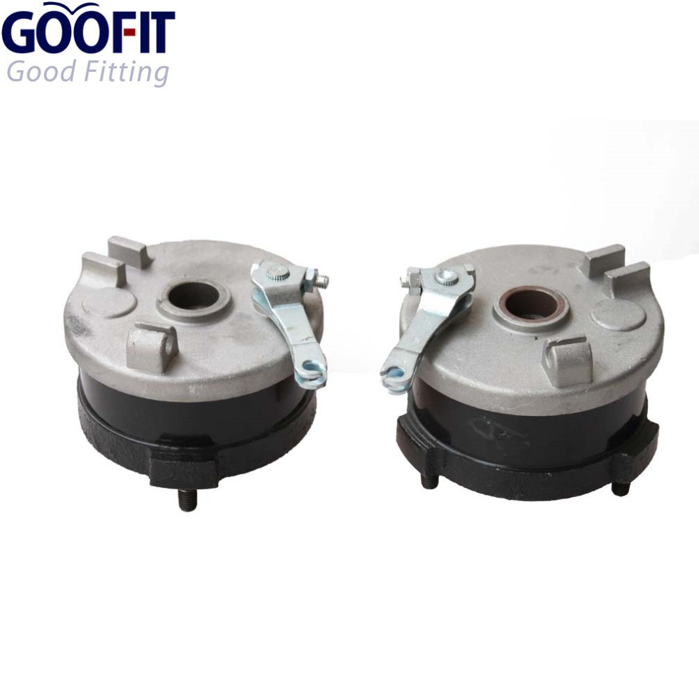 GOOFIT Motorcycle Accessory ATV brake accessory Left & Right Drum Brake Assy for 50cc ATV  C029-034