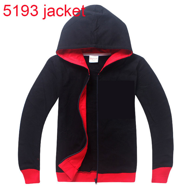 6-14 Years Hooded Jackets Coats Hoodies Cotton Children Clothes Zipper Girls Boys Outerwear Coat Casual clothing