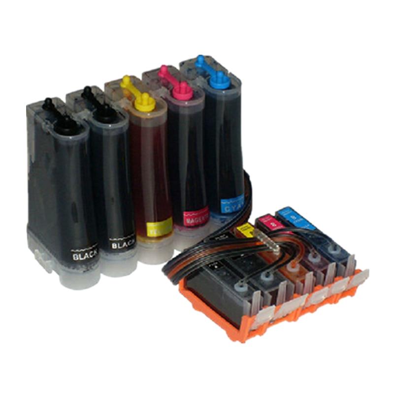 5 color ink 178 XL 178 ink system Compatible For hp Photosmart C6380/C6300/C5300/C5383/C5380/C6383/D5460/D5400/D5463 printer