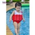 Baby Summer Cute Kids Children Swimsuit Girls Floating Buoyancy Cartoon One Piece Swimwear Safety Bathing Suit Conjoined Briefs