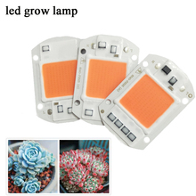 10 Pcs/lot LED Grow Light Lampu Chip 660nm Power LED 220 V 20 W 30 W 50 W untuk Indoor tanaman Bibit Tumbuh dan Bunga