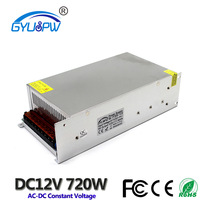 12V 700W 58.3A Switching power supply AC 110V/220V Small size Constant voltage power supply LED light Drive power transformer