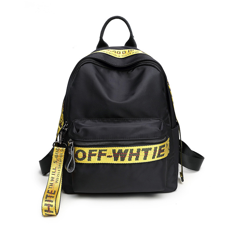 Off White Waterproof Fabric Women Daily Backpack Casual Printing School Bag for College Girls Boys Laptop Dayback Off White BagOff White Waterproof Fabric Women Daily Backpack Casual Printing School Bag for College Girls Boys Laptop Dayback Off White Bag