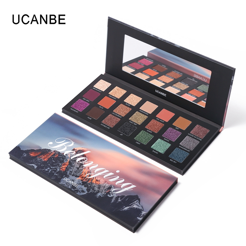 Eyeshadow Makeup Palette Shimmer Smooth Semi-Matte 21 Colors