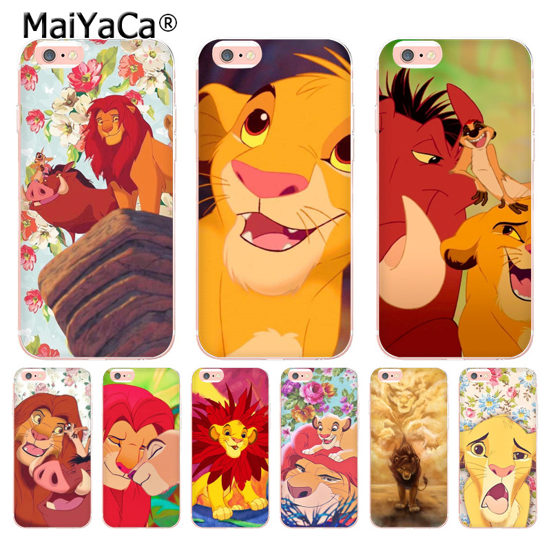 MaiYaCa The <font><b>Lion</b></font> <font><b>King</b></font> Novelty Fundas Phone <font><b>Case</b></font> Cover for <font><b>iphone</b></font> 11 Pro 8 7 <font><b>6</b></font> 6S Plus X 5 5S SE XS XR XSMAX image