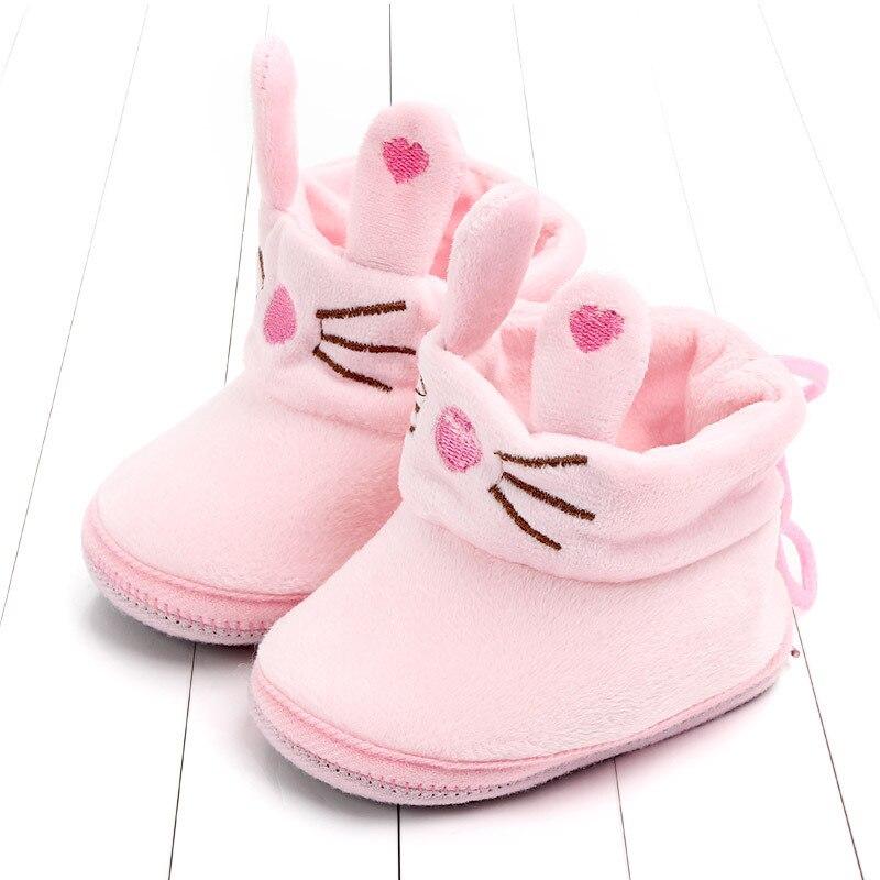 Indoor First Walkers Baby Shoes Cotton Anti-slip Booties Winter Wammer Baby Girl Boy Shoes Newborn Slippers Footwear Booties (21)