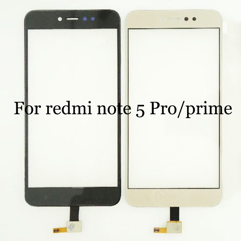 Für xiaomi <font><b>redmi</b></font> <font><b>note</b></font> <font><b>5</b></font> pro prime <font><b>TouchScreen</b></font> Digitizer Für <font><b>redmi</b></font> <font><b>note</b></font> <font><b>5</b></font> pro prime Touch Screen Glas panel Mit Flex Kabel image