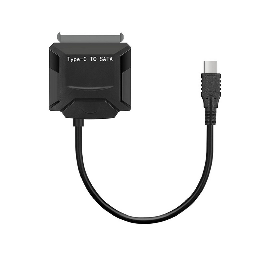 Type-C USB3.1 To SATA 22 Pin HDD Power Adapter Cable 2.5/3.5 Inch Hard Disk Drive SSD Converter Cables XXM8 super speed usb3 0 to sata hard drive adapter ssd double cable converter 22 pin 2 5 inch notebook hard drive data cables