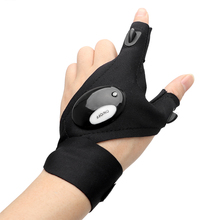 ITimo Repairing Finger Light LED Glove Flashlight Torch Mini Portable Light Multi-use for Camping Hiking Fishing
