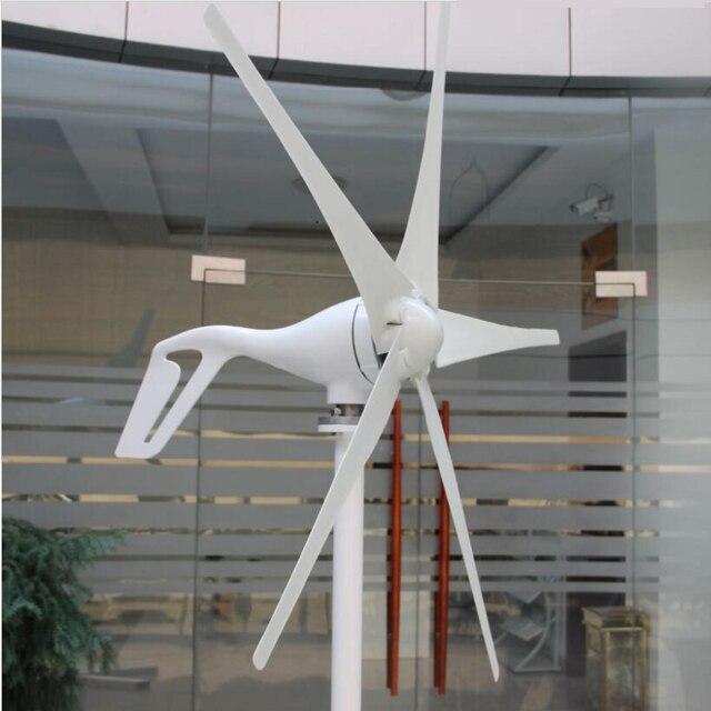 Générateur d'éolienne 3 lames 5 lames 300 w 24 V/12 v avec contrôleur de Charge éolienne