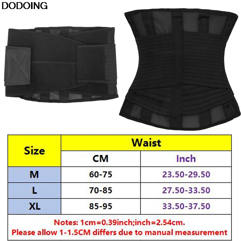 f9ea534280db7 DODOING Women Body Shaper Slimming Waist Shaper Belt Firm Control Waist  Trainer Plus Size Shapewear-in Waist Cinchers from Underwear   Sleepwears  on ...