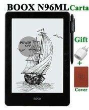 Nouveau ONYX BOOX N96ML carta + 9.7 «ebook lecteur 1G/16G 3000ma wifi bluetooth eink tactile écran cadeau couverture