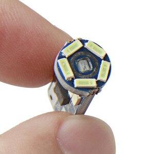Image 4 - 10 ピース W5W SMD 車 T10 LED 194 168 ウェッジインパネランプ白クリスタルブルー読書クリアランス電球車のライトのため