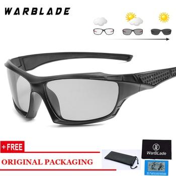 028712e63 Fotocromáticos gafas de sol hombres conducción gafas de sol polarizadas  camaleón la seguridad del conductor gafas de visión nocturna gafas UV400  2018
