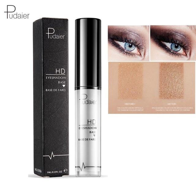 Pudaier Professional Makeup Base 2 Colors Face Foundation Primer Liquid Eye Shadow Primer Facial for Face Contour Concealer