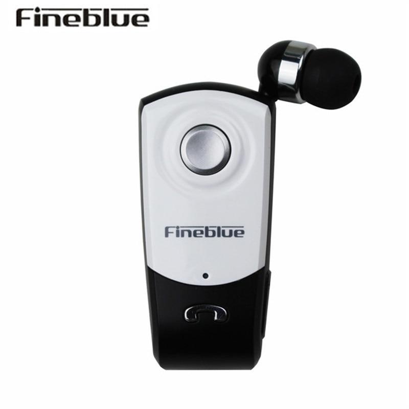 FineBlue F960 Wireless Driver Bluetooth Headphone Wear Clip Business Earphone Call Remind Handsfree Vibration Headset Auriculare