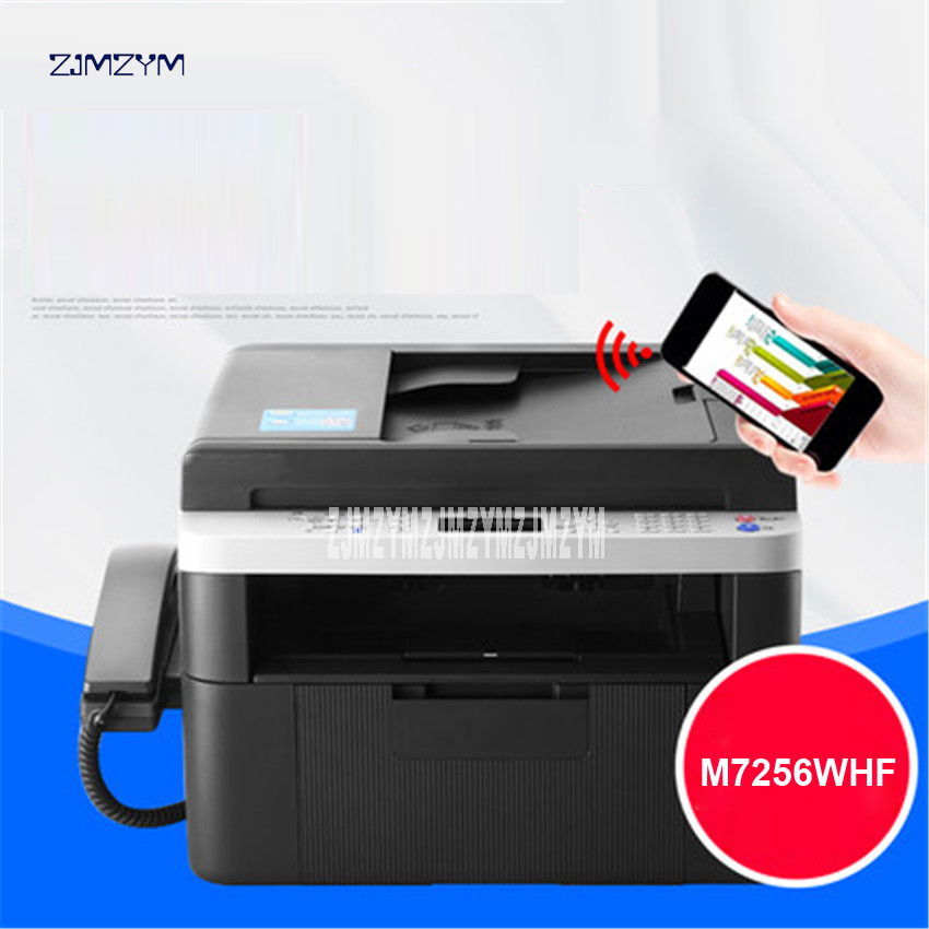 Business A4 Printer Office Domestic Copying Scanning Printer Laser Multifunction All in One Printing Integrated Machine M7256WHF image