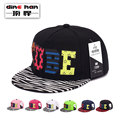 2016 New arrival baseball hat hip-hop cap spring and autumn flat along the street dance hat B-1652