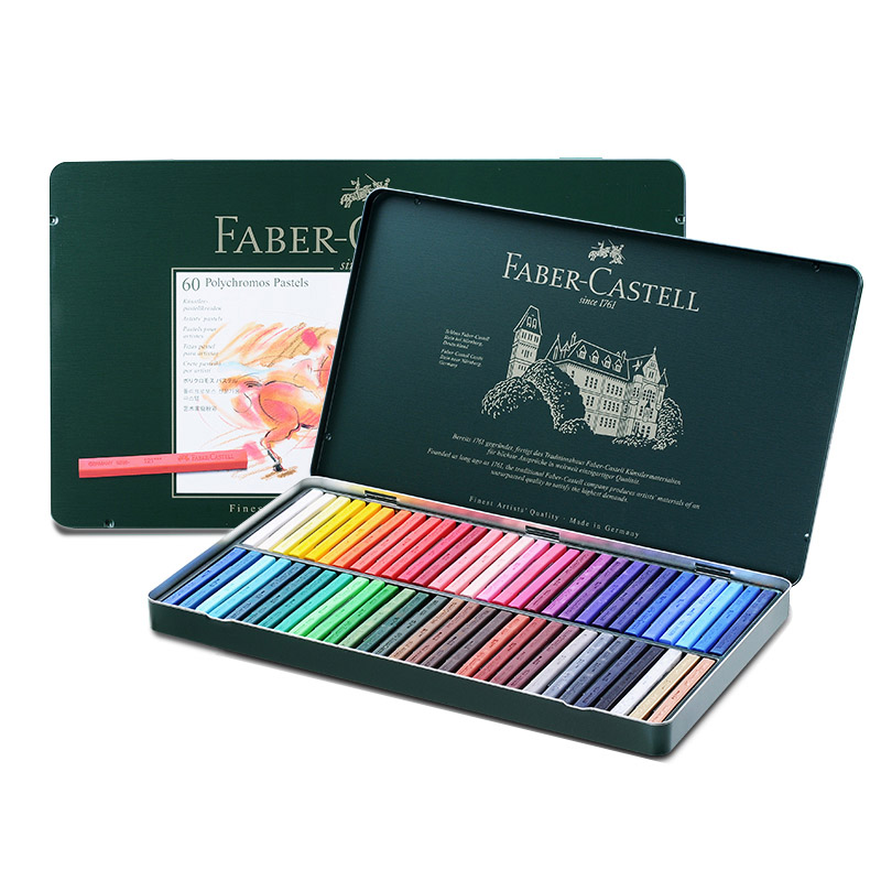 FABER CASTELL Color chalk / 36/60 12/24 color grade artist professional pastels отвертка аккумуляторная einhell te sd 3 6 1 3 6в li ion 1 5ач