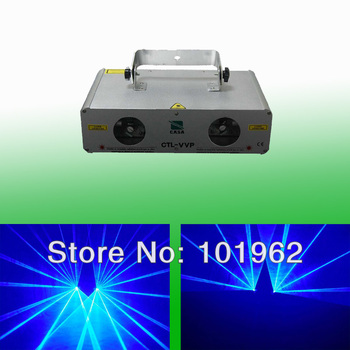 Chine lumière de scène 300 mW laser bleu Violet + 300 mW Laser bleu Violet pour spectacle de fête