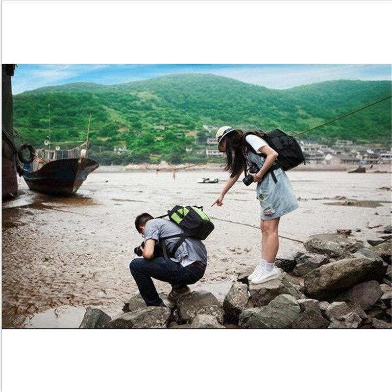 NEW Waterproof BACKPACK DSLR SLR Camera Case Bag For Nikon Canon Sony Fuji Pentax Olympus Leica Outdoor Bag Photograph Bag 2830
