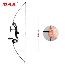 54 Inches Straight Bow 30-45 LBS Recurve Length with Sight Arrow for Outdoor Archery Hunting Shooting